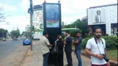 Habilitan parada tecnológica: se sabrá en cuánto tiempo llegan los buses