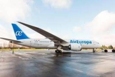 Air Europa incorpora a su flota su tercer Dreamliner