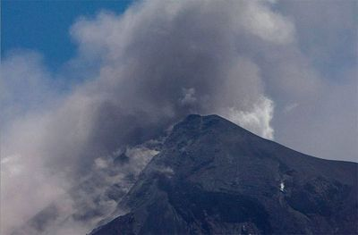 Volcán de Fuego inicia erupción en Guatemala