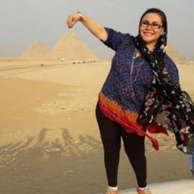 Cantante paraguaya deslumbró en los escenarios de Egipto