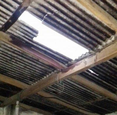 Varios daños por temporal en Alto Paraguay
