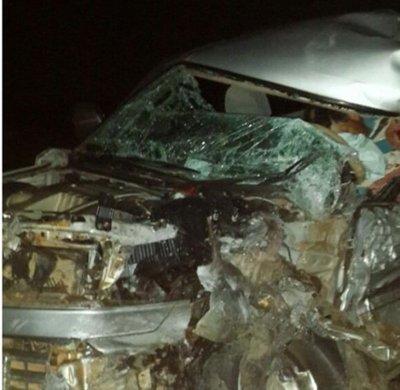 Dos fallecidos deja accidente de tránsito en Ayolas