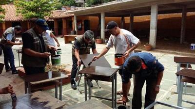 Mejoras edilicias en Escuela Alicia Lynch de la Chacarita