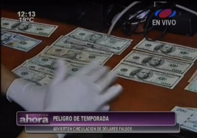 Atención con los billetes falsos que circulan en el mercado