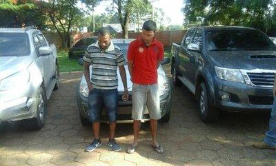 Hallan en Amambay vehículos robados en Brasil