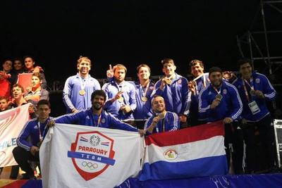Paraguayos subieron al podio en los Juegos Bolivarianos