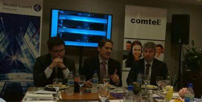 Experto de Alcatel vino al país  para ofrecer soluciones de tecnología