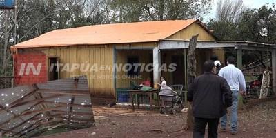 500 FAMILIAS FUERON ASISTIDAS TRAS EL TEMPORAL DE ITAPÚA