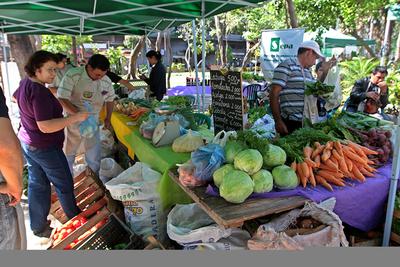 Feria de pequeños productores irá hasta este sábado en el MAG