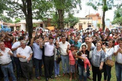 Yuty, Caazapá: 550 familias beneficiadas con programas sociales
