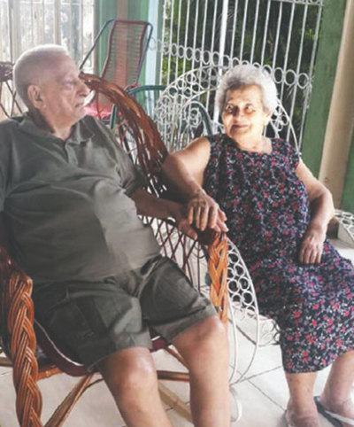 Celebró sus 100 años de vida y 75 de casado