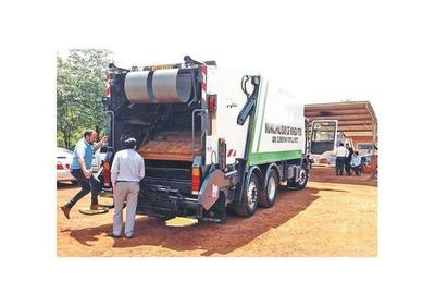 En Minga Porã se brinda el servicio gratuito de recolección de basuras