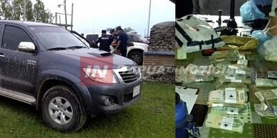 ÑEEMBUCÚ: POLICÍA RECUPERA MILLONARIO BOTÍN DE ASALTO EN MANOS DE SUS PARES
