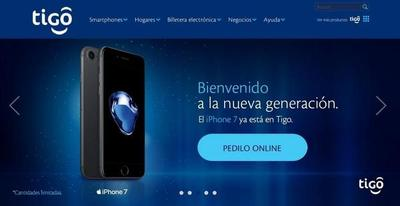 Tigo arrancó con la comercialización del nuevo iPhone 7