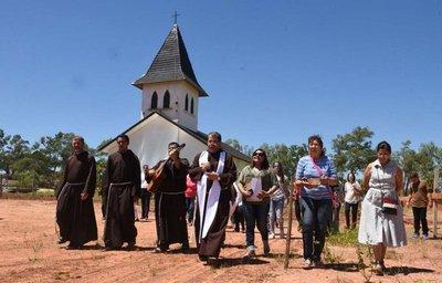 Construyen convento capuchino en Limpio