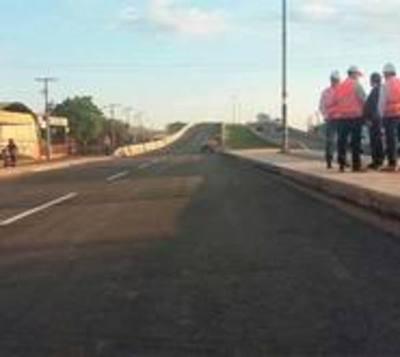 Ya se transita sobre el segundo viaducto de la Ruta 3