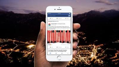 Facebook lanzó una herramienta para transmitir audios en vivo