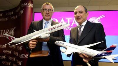 Qatar Airways compra parte de las acciones de LATAM