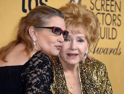 Muere la actriz Debbie Reynolds, madre de Carrie Fisher