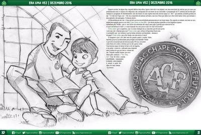 Un cuento para niños de la tragedia del Chapecoense