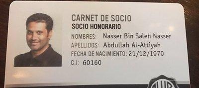Del Rey al príncipe: Al-Attiyah es socio honorario del club Olimpia