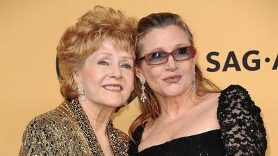 Debbie Reynolds murió un día después que su hija Carrie