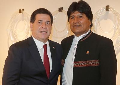 Cartes y Evo Morales se reunirán hoy en Palacio