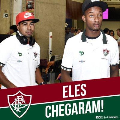 El Fluminense recibe a los ecuatorianos Orejuela y Sornoza