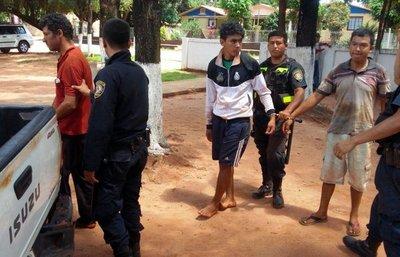 Guahory: liberan a detenidos
