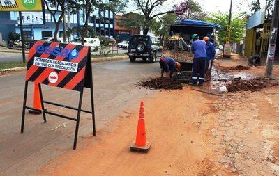 Por obras de alcantarillado cerrarán calle en Tablada