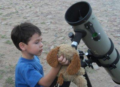 Aprender astronomía durante las vacaciones