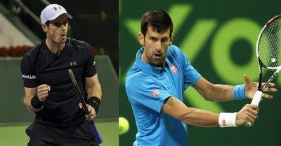 Murray y Djokovic, final soñada en Doha