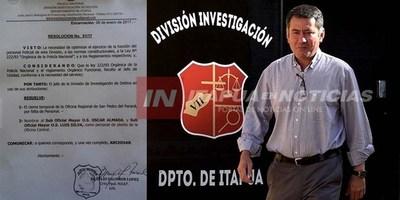JEFE DE POLICÍA FRENA CIERRE DE  INVESTIGACIONES EN SAN PEDRO DEL PNÁ.