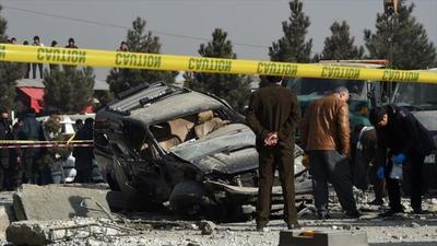 Al menos 38 personas perecieron en doble atentado suicida talibán