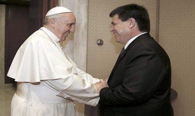 Cartes se reunirá con el Papa en el Vaticano