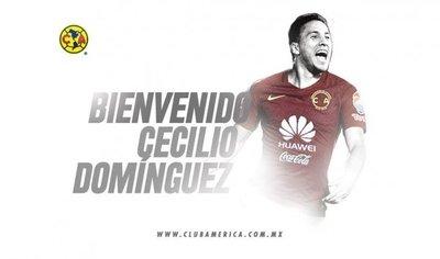 Cecilio Domínguez ya es del América