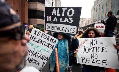 Inmigrantes de EEUU en pie de lucha