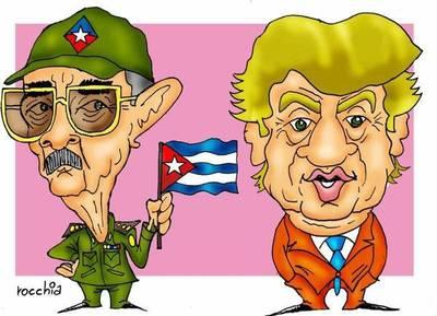 Donald Trump amenazó con cancelar el proceso de aproximación de Estados Unidos a Cuba