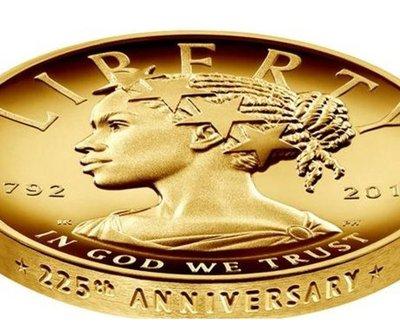 EE.UU. lanza moneda con la imagen de una mujer afroamericana