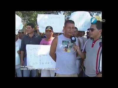Pescadores de Cerrito reclaman pago de subsidios