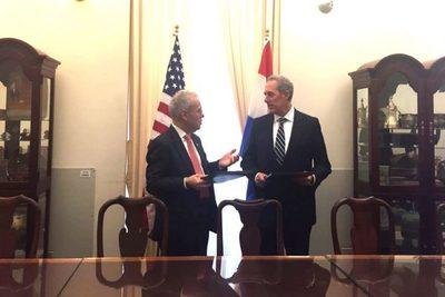 Paraguay y Estados Unidos firman un acuerdo