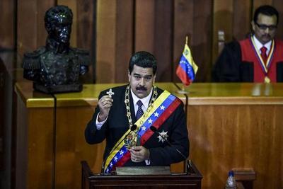 Maduro da cuentas de su gestión en crisis de Venezuela