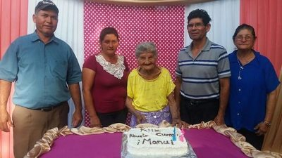 Abue cumplió 102 años