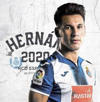El Espanyol anuncia la renovación de Pérez