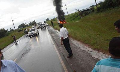 Una fallecido en un accidente de tránsito en Misiones