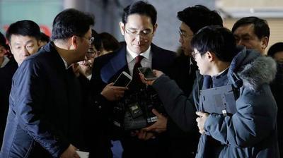 """Caso """"Rasputina"""": la Fiscalía de Corea del Sur pidió el arresto del heredero de Samsung por corrupción"""