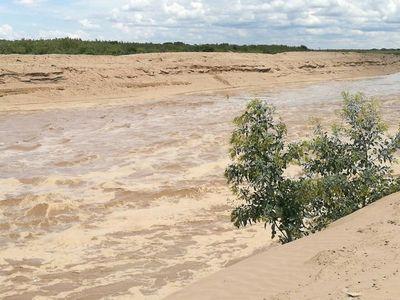 Aguas del Pilcomayo ya avanzaron más de 100 km. en territorio paraguayo