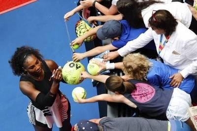 Estreno victorioso de Serena en Australia