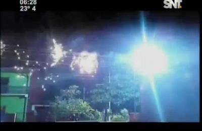 Diversas explosiones se registraron en tendido de la Ande