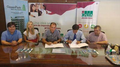 Green Park y Caja Médica sellan alianza estratégica en beneficio de los socios